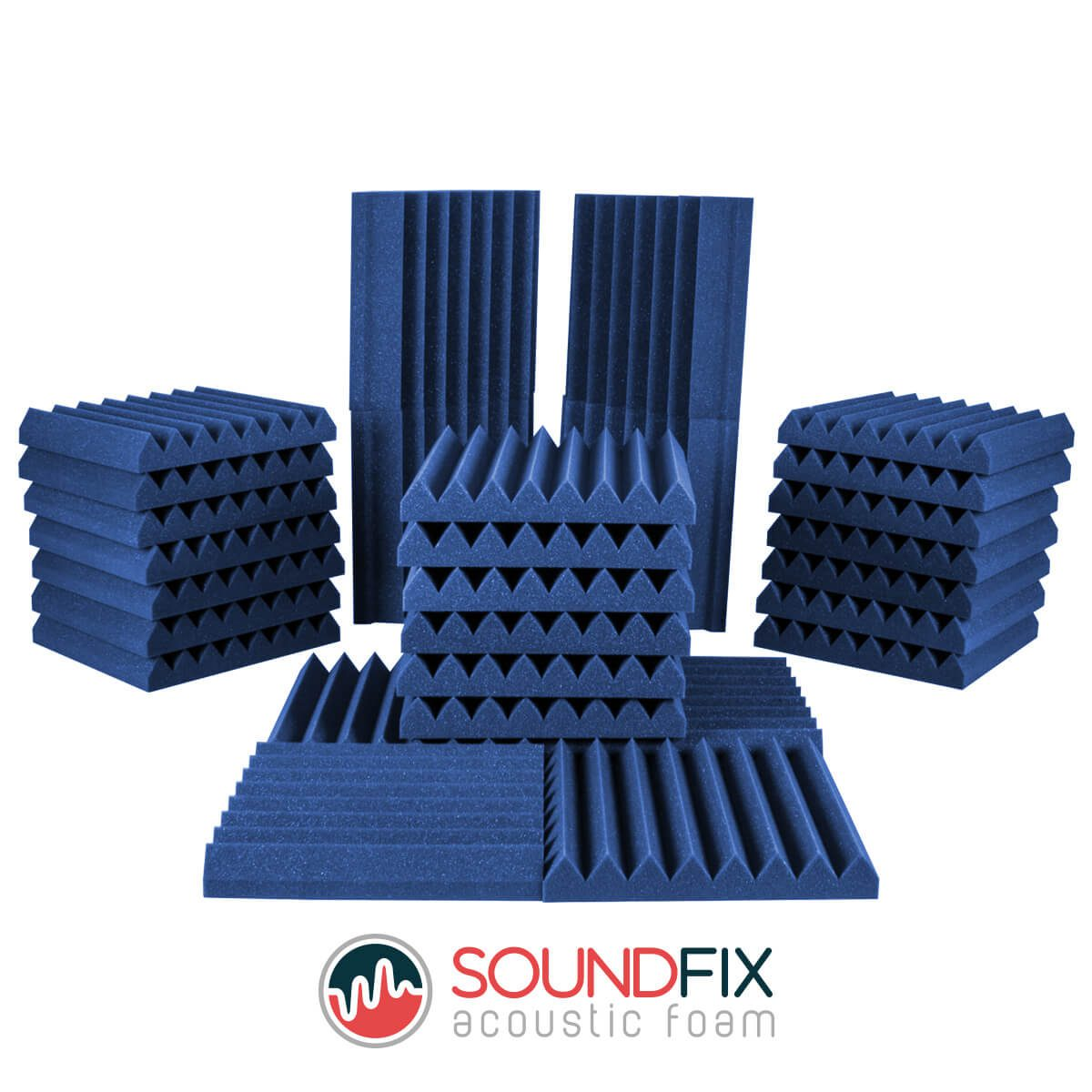 acoustic room kit blue